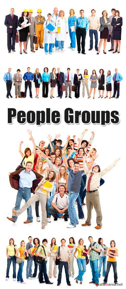 Stock Photo - People Groups