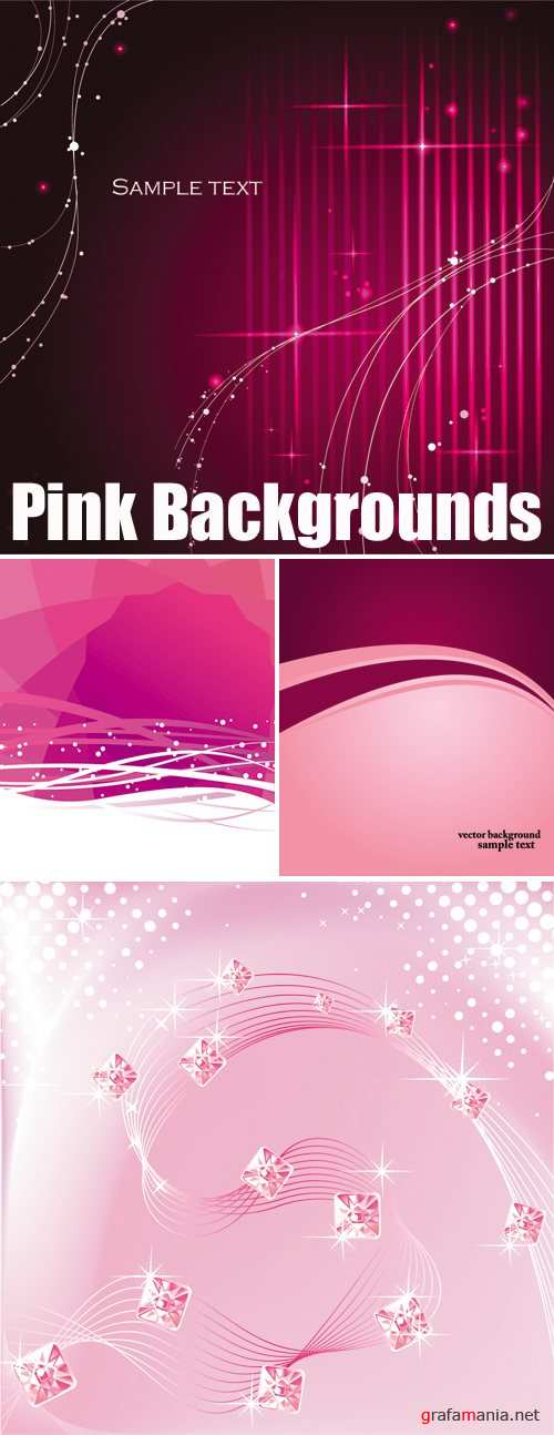 Pink Backgrounds Vector