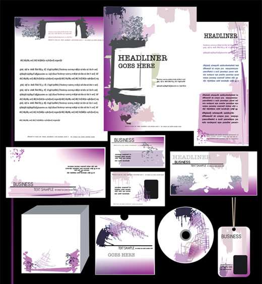 Vector Corporate ID Templates