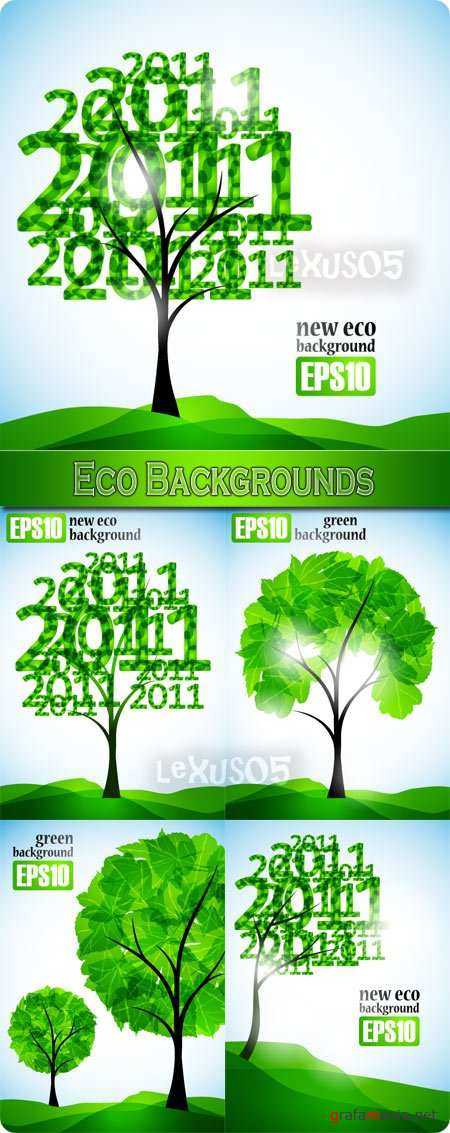 Eco Backgrounds