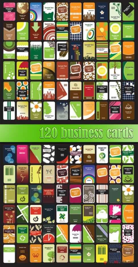 120 business cards