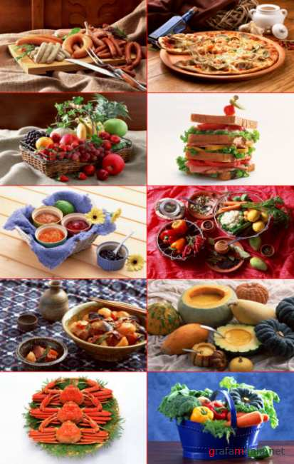 Clipart – Foods and Dishes
