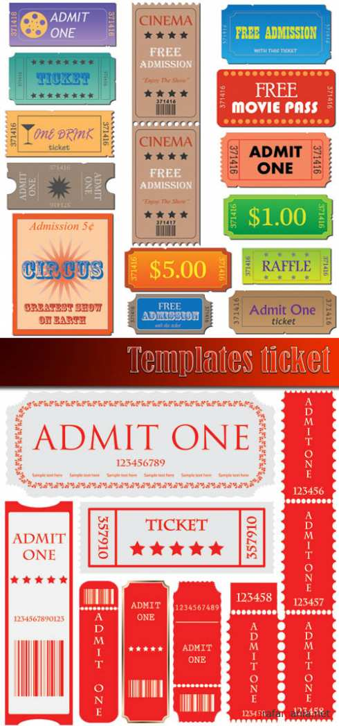 Templates ticket