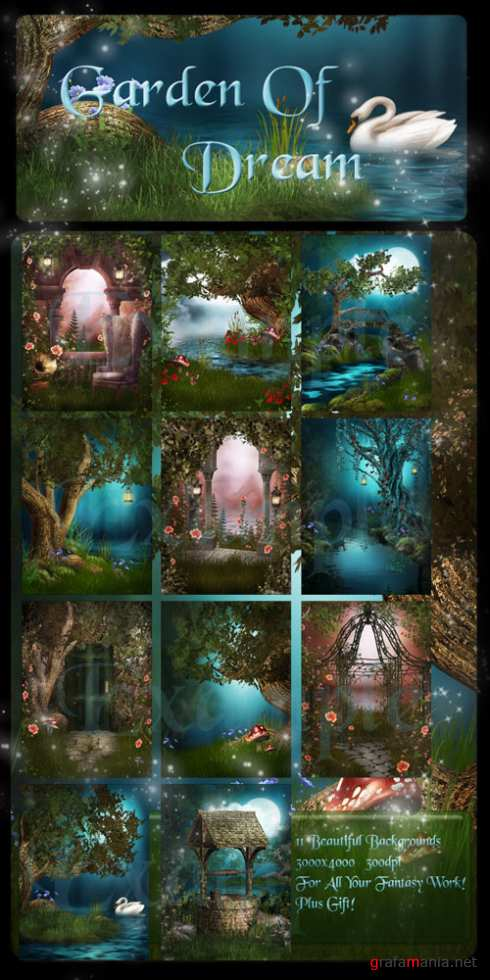 Garden Of Dream Backgrounds