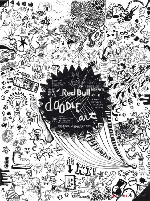 25 most creative examples of doodle art