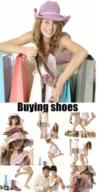 Buying shoes