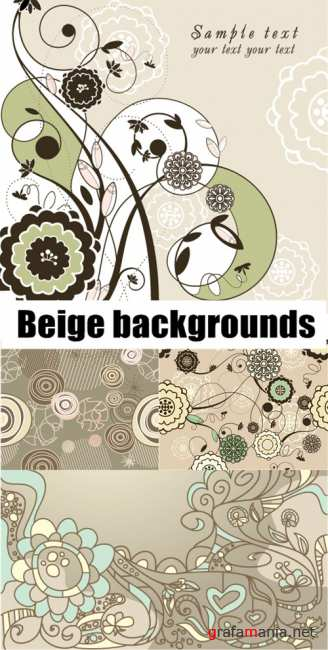 Beige backgrounds