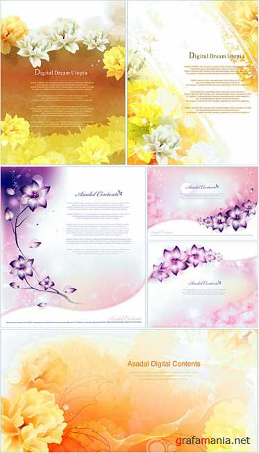 Flower backgrounds 2