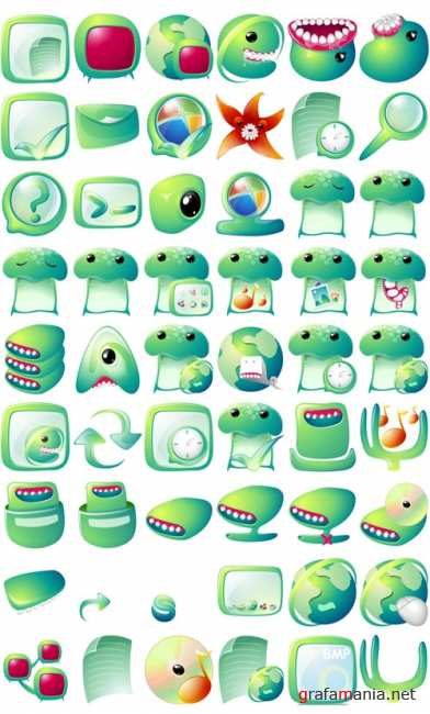 Weird Creature Icons