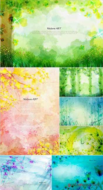 Nature Art Vector 8
