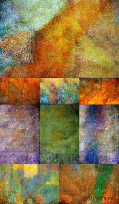 Grunge paint textures