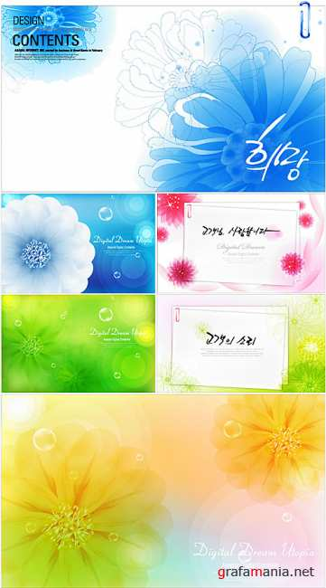 Flower backgrounds 4