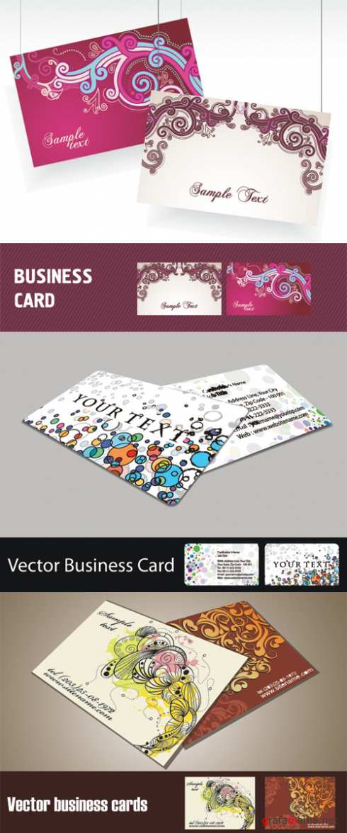 Vector Business Cards 17
