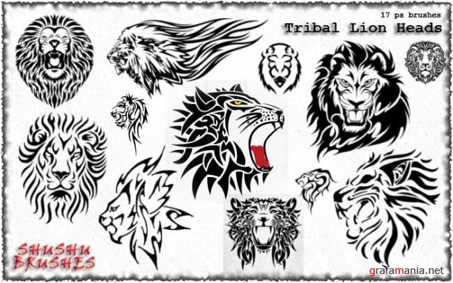 Tribal Leon Heads