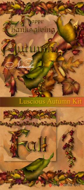 Luscious Autumn Kit