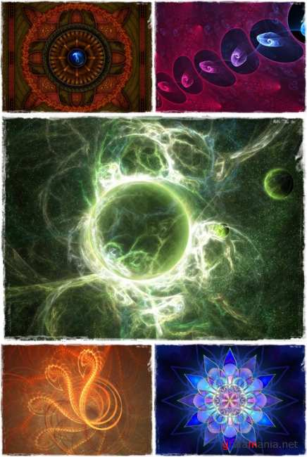 Wallpapers - Best Fractal Pack#10
