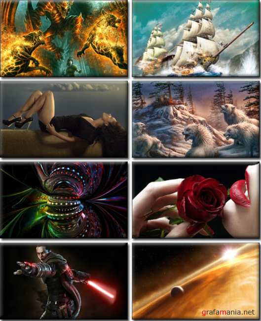 Best Mixed Wallpapers Pack (107)