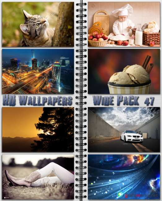 HD Wallpapers Wide Pack №47