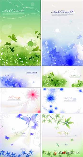 Flower backgrounds 5