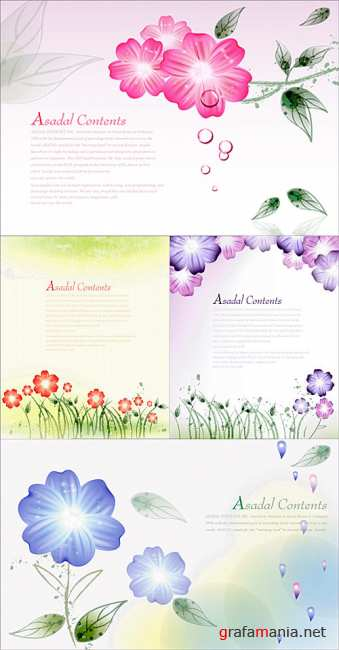 Flower backgrounds 6