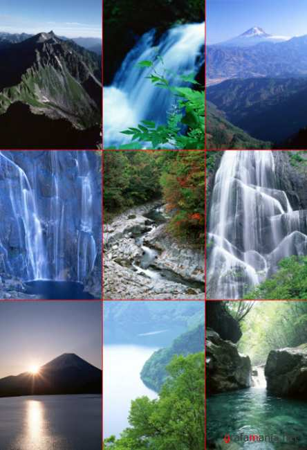 Clipart – Clean Streams Mountains & Nature