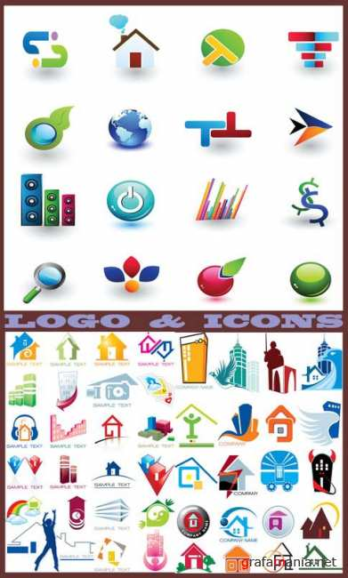 Logo and Icons 26
