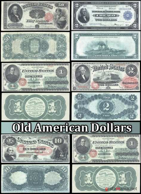 Old American Dollars