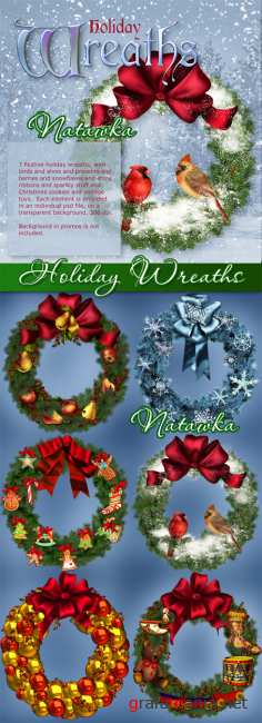 Holiday Wreaths II