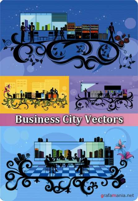 Business City Vectors