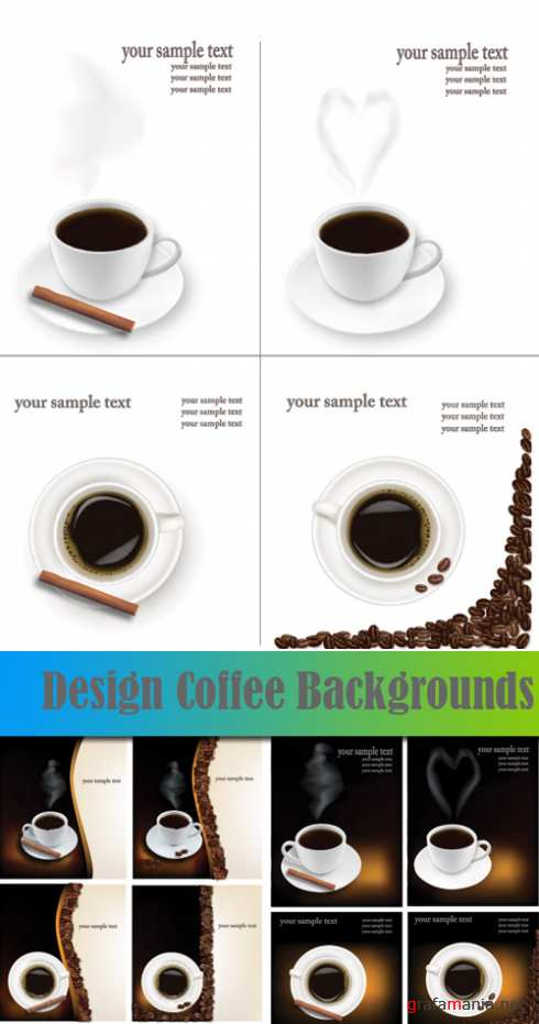 Design Coffee Backgrounds