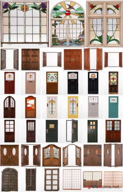 Clipart – Doors and Windows