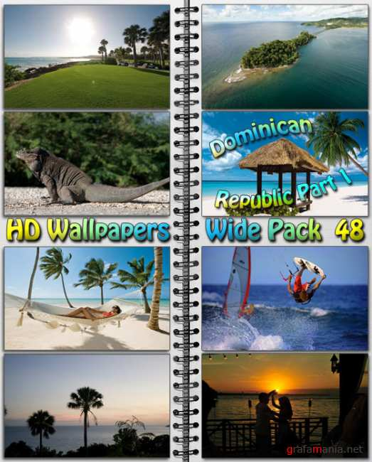 HD Wallpapers Wide Pack №48 - Dominican Republic Part 1