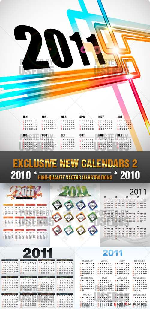 EXCLUSIVE NEW CALENDARS 2