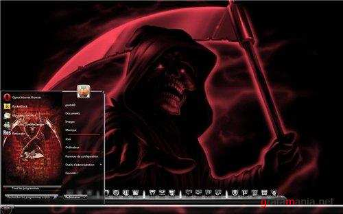 Reaper Theme for Windows 7