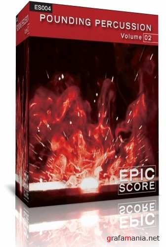 Epic Score - Pounding Percussion 2