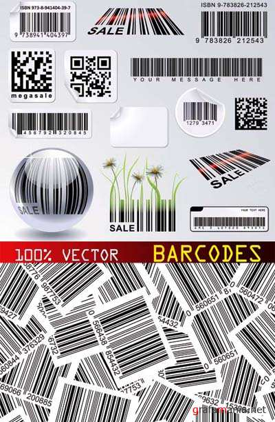 Stock Vector - Barcodes