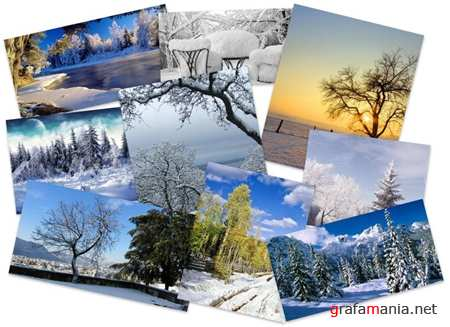 25 Amazing Winter Widescreen Wallpapers