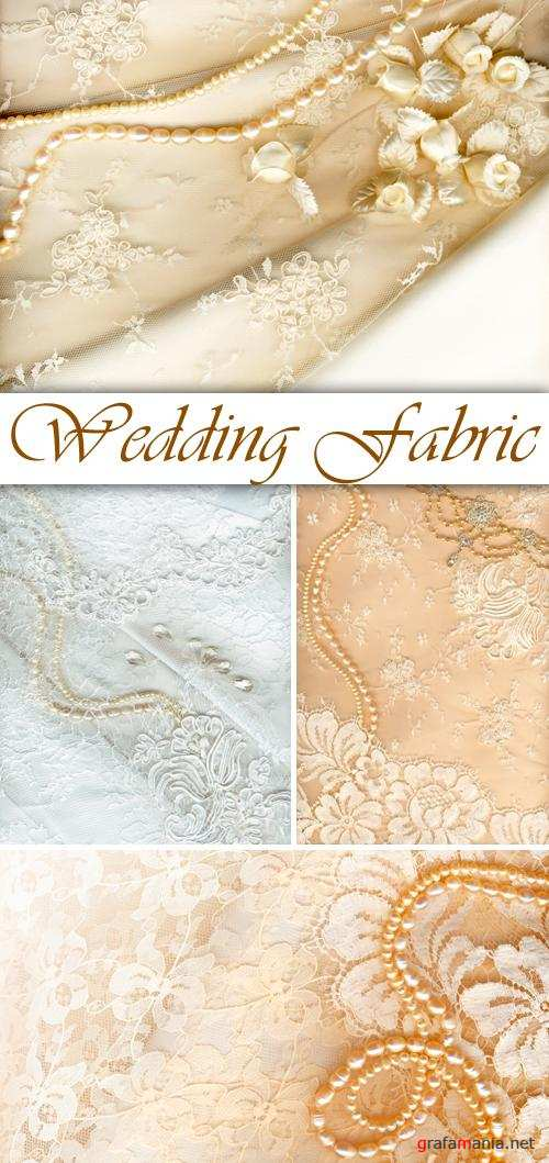 Stock Photo - Wedding Fabric Backgrounds