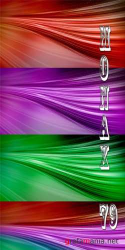Footages Waving abstract backgrounds
