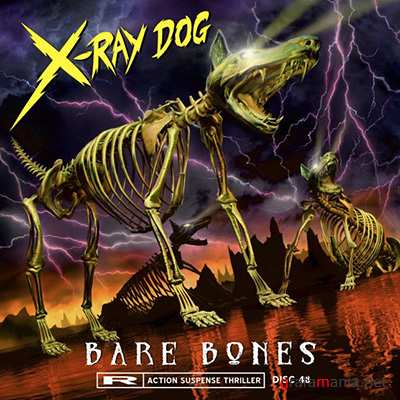 X-Ray Dog Music - Bare Bones - CD48
