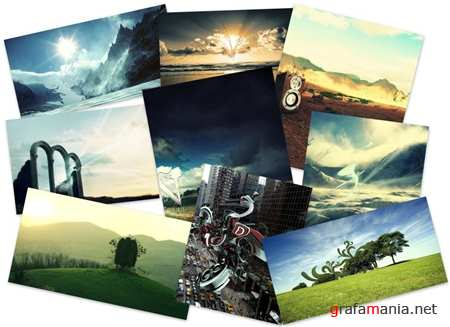 30 Abstract Landscapes Wallpapers