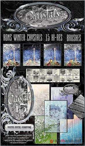 Rons Winter Crystals