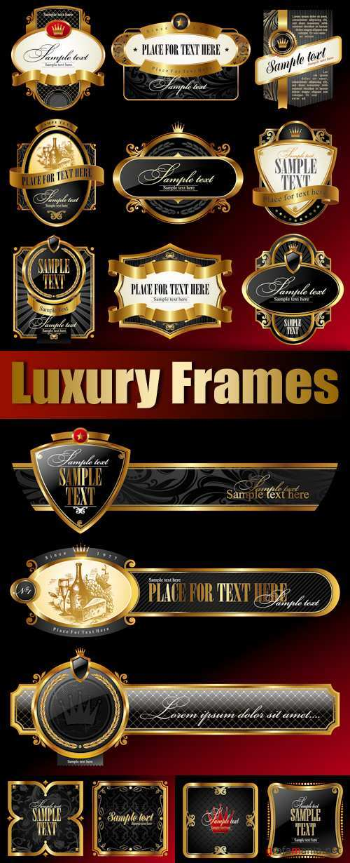 Luxury Frames Vector
