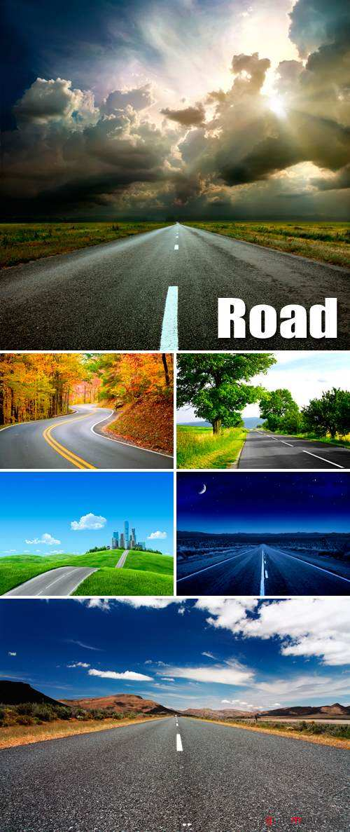 Stock Photo - Road 2