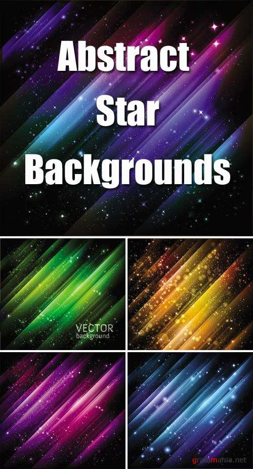 Abstract Star Backgrounds