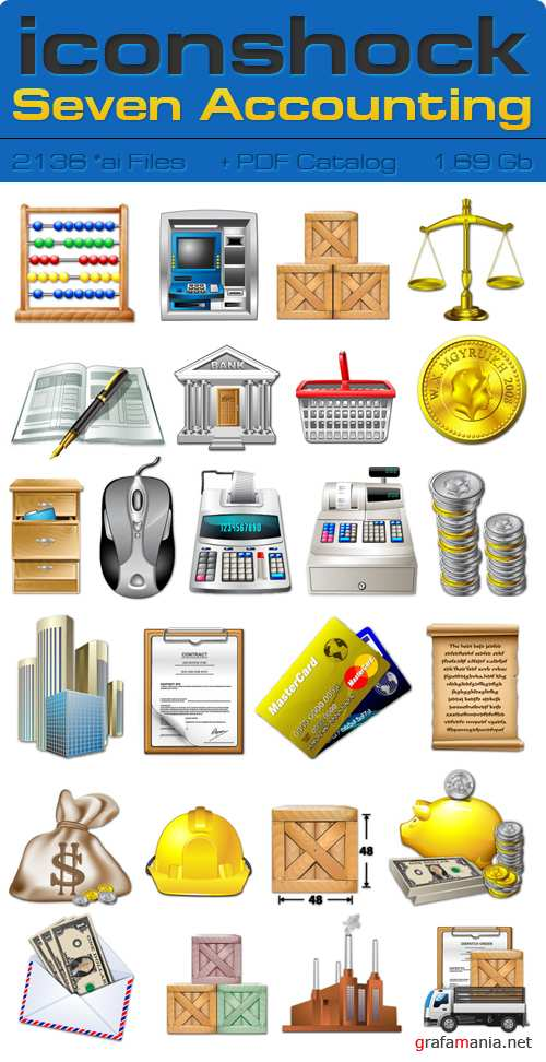 IconShok - Seven Accounting Illustrator Sources