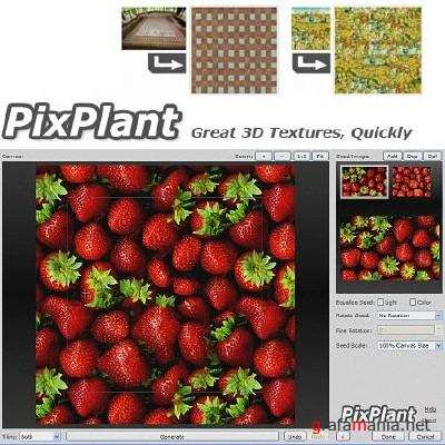 PixPlant 2.1.65 for Adobe Photoshop (x32/x64) + ����� Tutorial