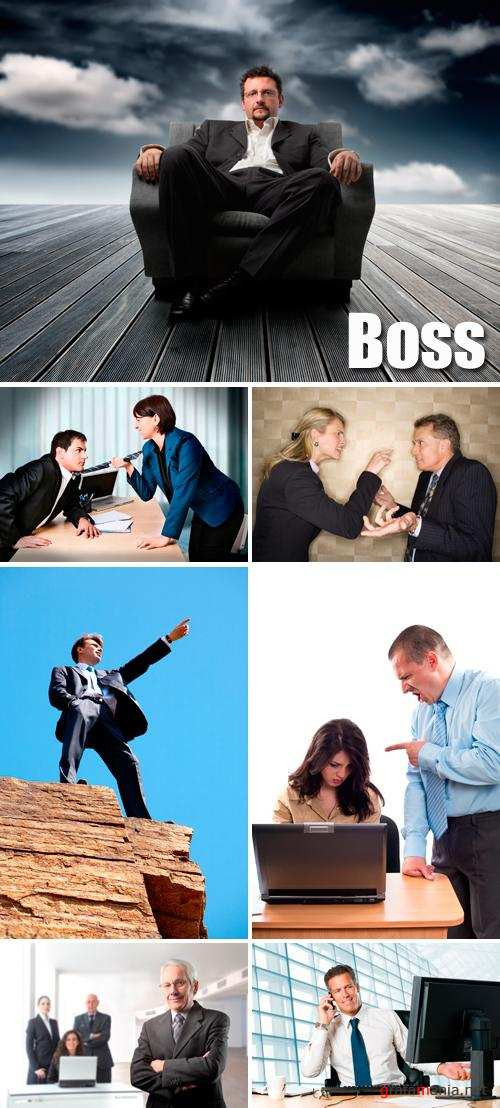 Stock Photo - Boss