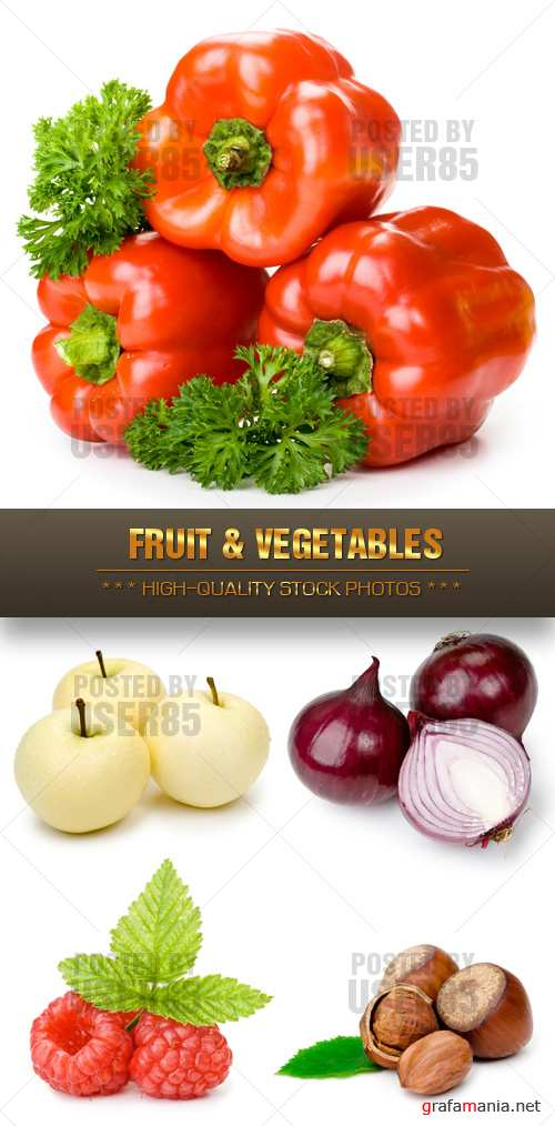 Stock Photo - Fruit & Vegetables