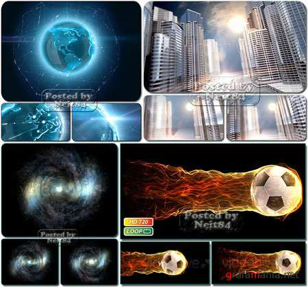 VideoHive Object motion Background Pack 5
